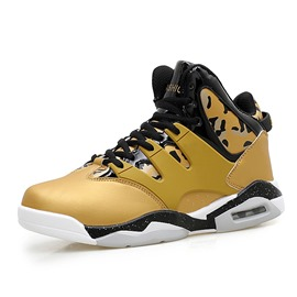Ericdress Camouflage High-Cut Men's Basketball Shoes