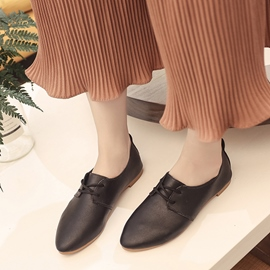 Ericdress Comfy Cross Strap Plain Women's Flats