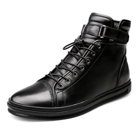 Ericdress Warm Velcro Plain Men's Ankle Boots