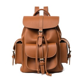 Ericdress Casual Huge Space Solid Color Women Backpack