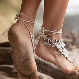 Ericdress Bohemian Style Coin Anklet For Women