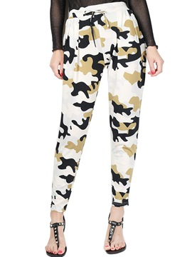 Ericdress High-Waist Loose Print Women's Harem Pants