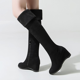 Ericdress Fall&Winter Plain Knee High Boots