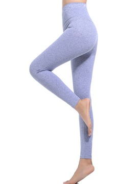 Ericdress High-Waist Stretchy Plain Women's Basic Leggings