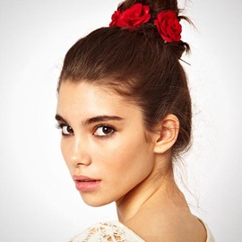Ericdress Alluring Imitation Rose Hair Accessories for Holiday