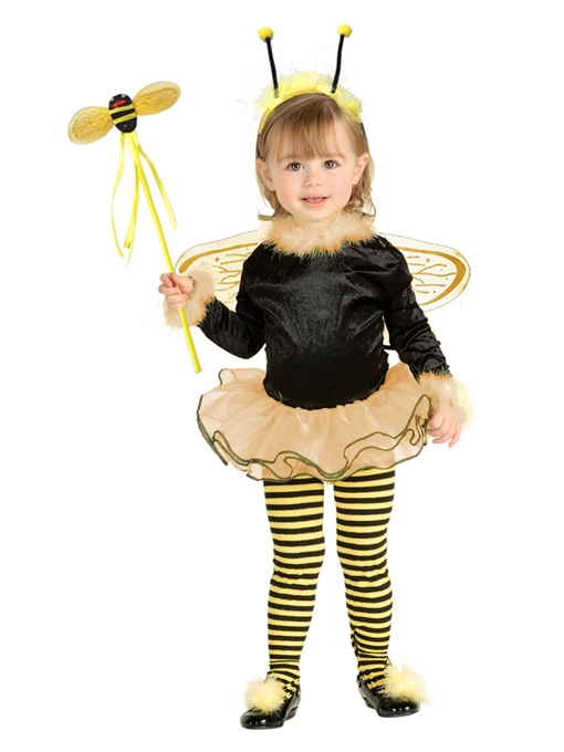 Ericdress Halloween Insect Fairy Cosplay Long Sleeve Party Dress Girls Costume