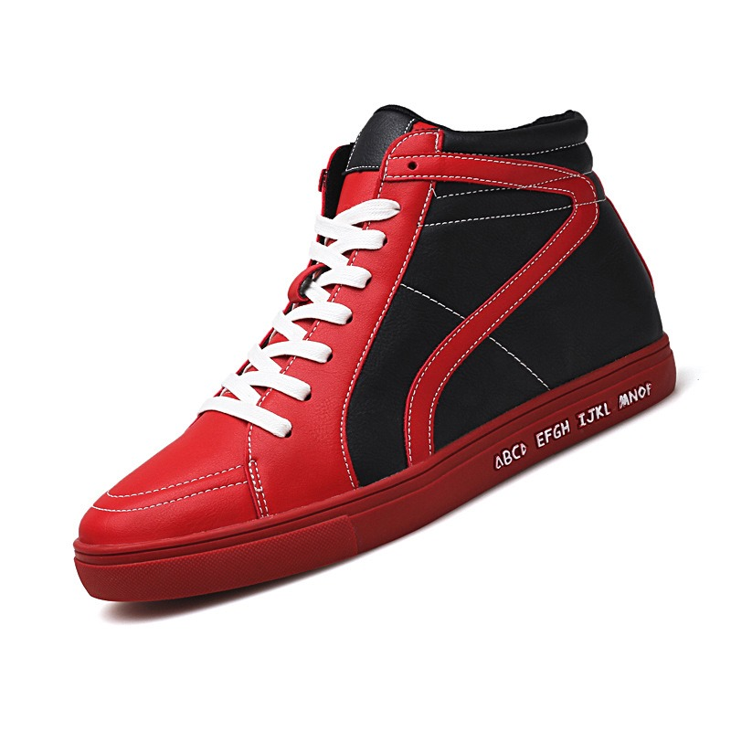 Ericdress Fashion Color Block Lace-Up Mens Sneakers