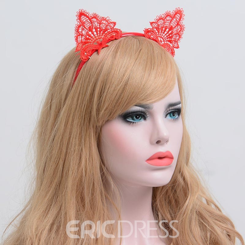 Ericdress Alluring Lace Cat's Ear Women's Hair Accessories
