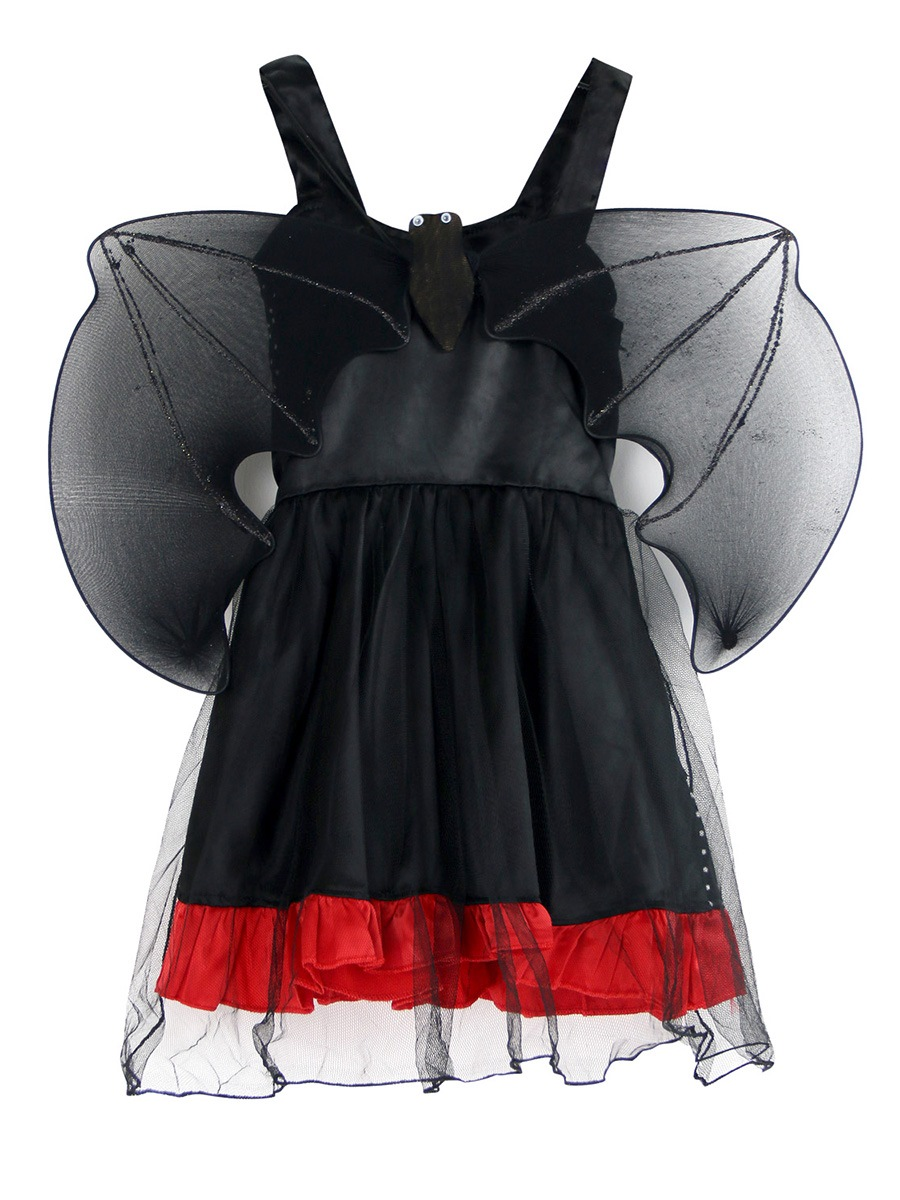 Ericdress Halloween Devil Cosplay Party Sleeveless Dress Girls Costume