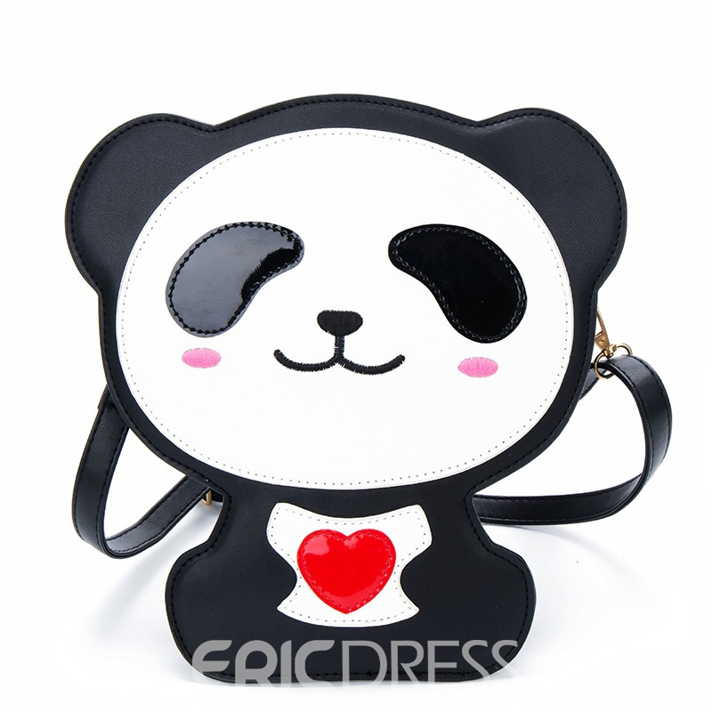 Ericdress Cute Cartoon Bear Design Crossbody Bag