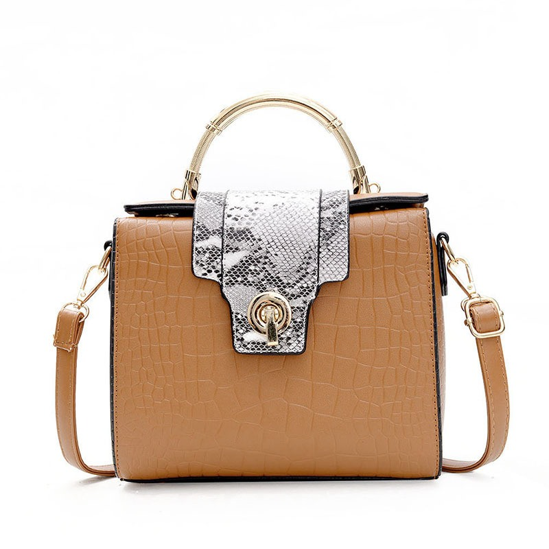 Ericdress Casual Serpentine Latch Decoration Crossbody Bag