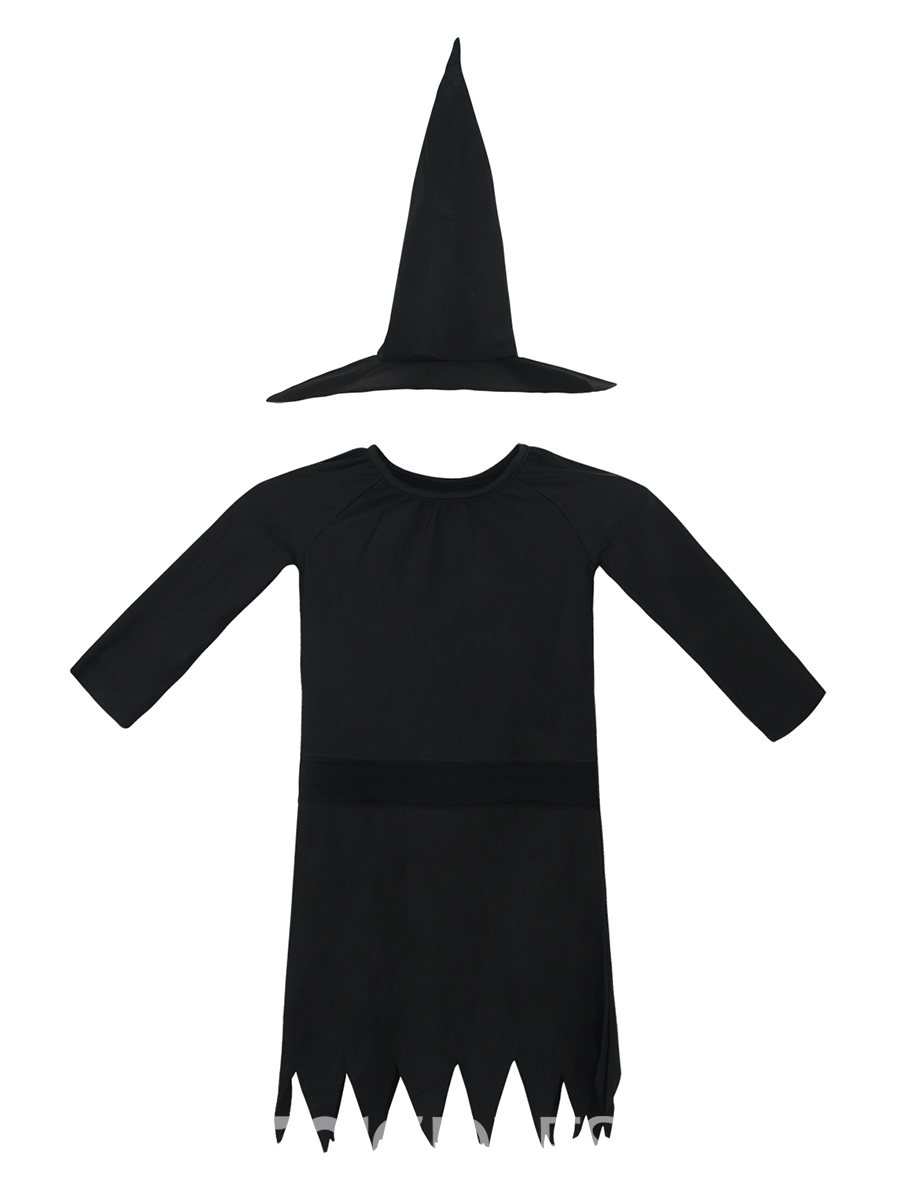 Ericdress Halloween Witch Cosplay Party Dress Girls Costume