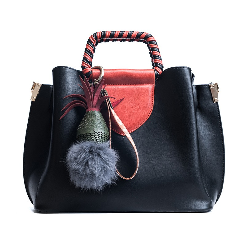 Ericdress Color Block Bucket Women Handbag