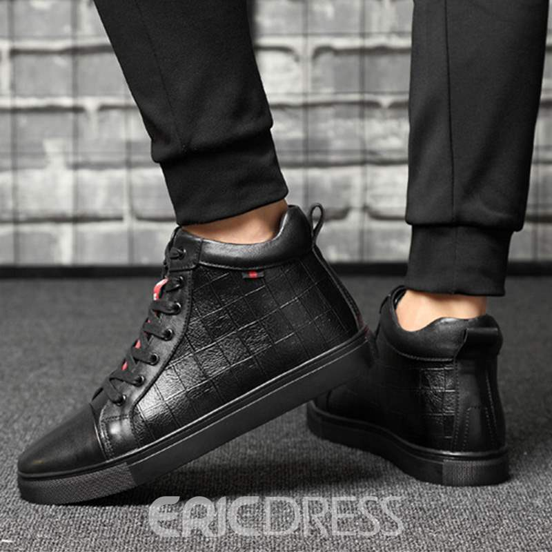 Ericdress Short Floss Round Toe Plain Men's Athletic Shoes