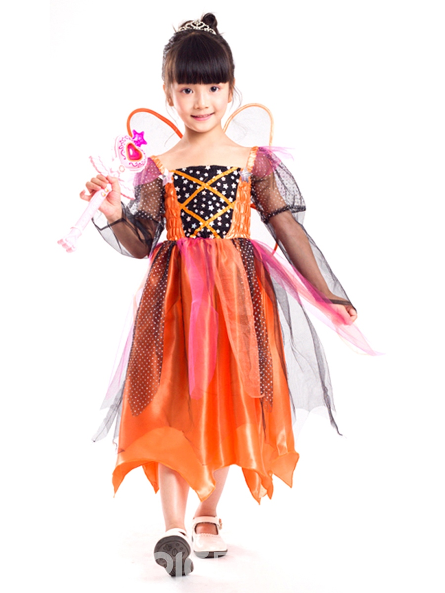 Ericdress Halloween Fairy Cosplay Party Dress Princess Girls Costume