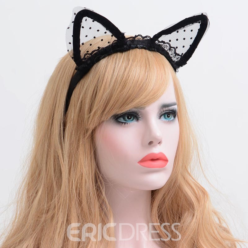Ericdress Cute Black Lace Women's Hair Accessories