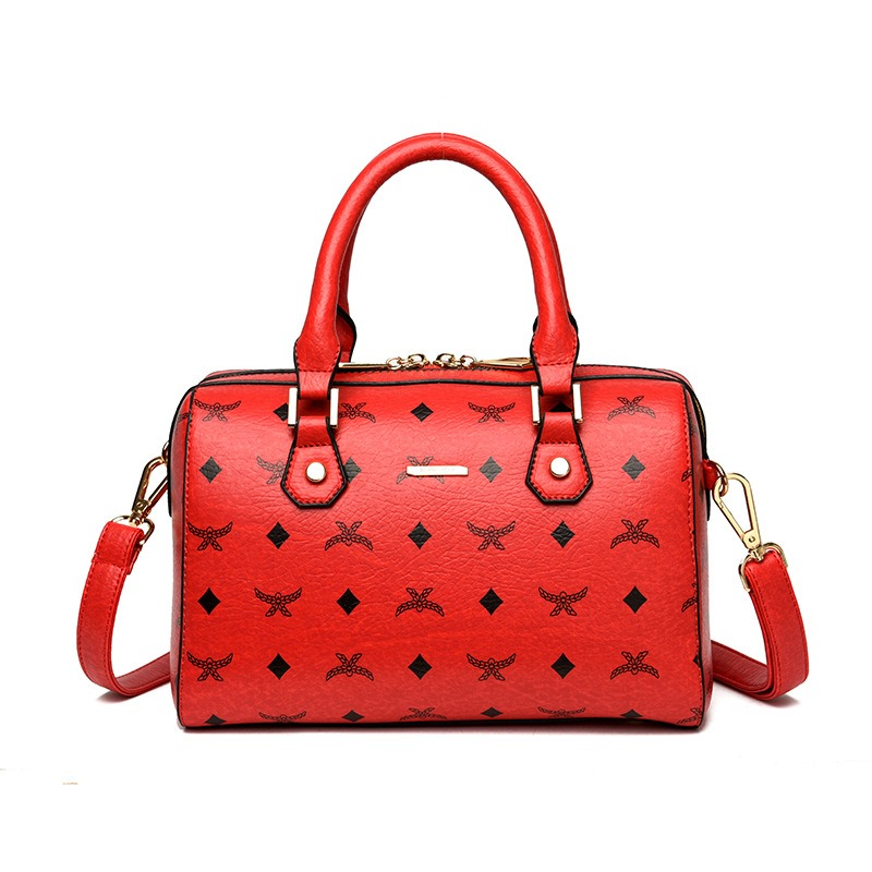 Ericdress Concise Prints Zipper Women Handbag