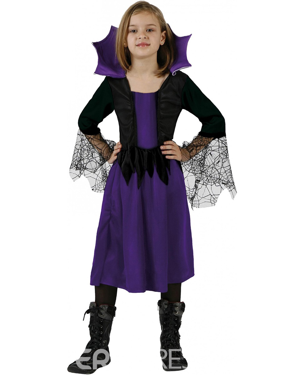 Ericdress Halloween Queen Cospaly Party Dress Girls Costume