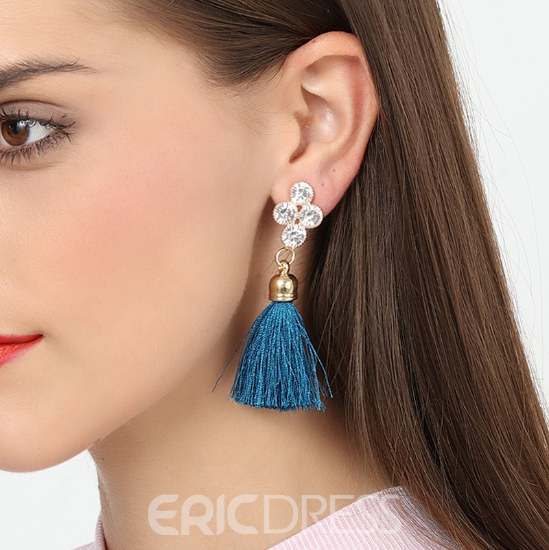 Ericdress Fashionable Women's Tassel Drop Earring