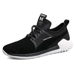 Ericdress Lightweight Elastic Band Patchwork Mens Athletic Shoes