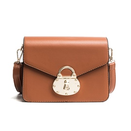 Ericdress Personality Lock Decoration Crossbody Bag