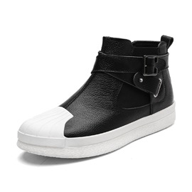 Ericdress Color Block Buckle Men's Casual Shoes