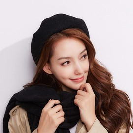 Ericdress Pure Color Beret Women's Hat