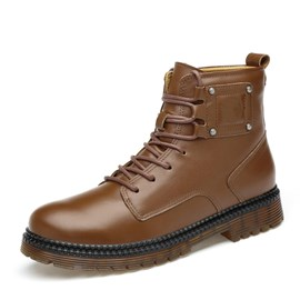 Ericdress All Match Rivet Men's Martin Boots