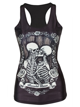 Ericdress I-Shaped Halloween Slim Vest