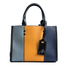 Ericdress Casual Color Block Zipper Women Handbag