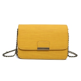 Ericdress Simple Solid Color Chain Crossbody Bag