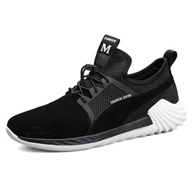 Ericdress Lightweight Elastic Band Patchwork Men's Athletic Shoes