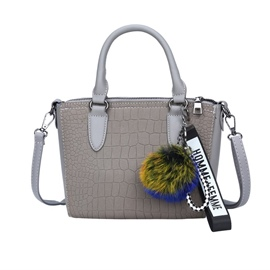 Ericdress Concise Stone Grain Matting Women Handbag
