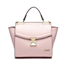 Ericdress Casual Solid Color Women Bat Handbag