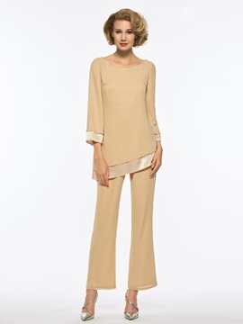 Ericdress Scoop Long Sleeves Mother Of The Bride Jumpsuit