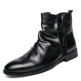 Ericdress New Arrival Sequin Plain Men's Boots