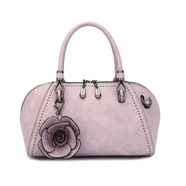 Ericdress Vogue Floral Decoration Sewing Thread Women Handbag