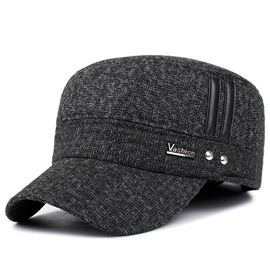 Ericdress Winter Outdoor Thicken Woolen Baseball Hat