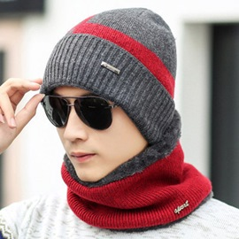 Ericdress Knitting Outdoor Thicken Double Layer Men's Hat