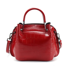 Ericdress Croco-Embossed Zipper Women Handbag