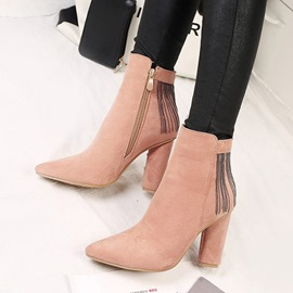 Ericdress Comfy Fringe Decorated Plain High Heel Boots