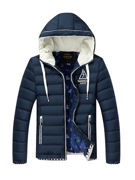 Ericdress Hooded Warm Men's Winter Coat