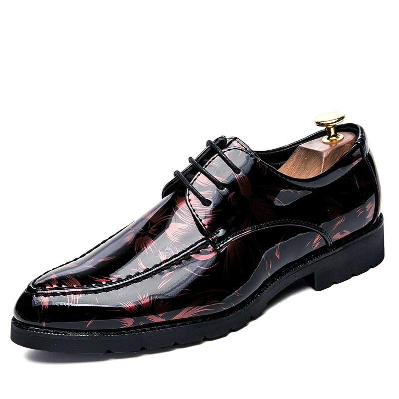 Ericdress Fashion Korean Color Block Mens Oxfords