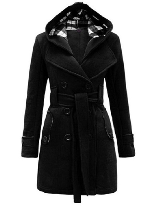 Ericdress Euro-American Style Women Hooded Coat