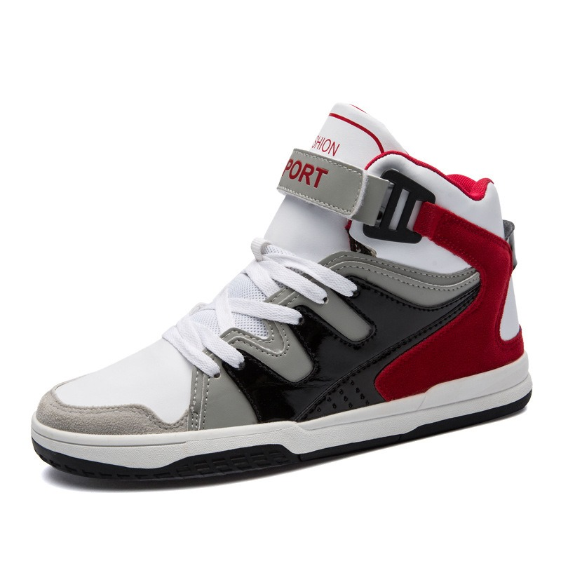 Ericdress Fashion Color Block Velcro Mens Athletic Shoes
