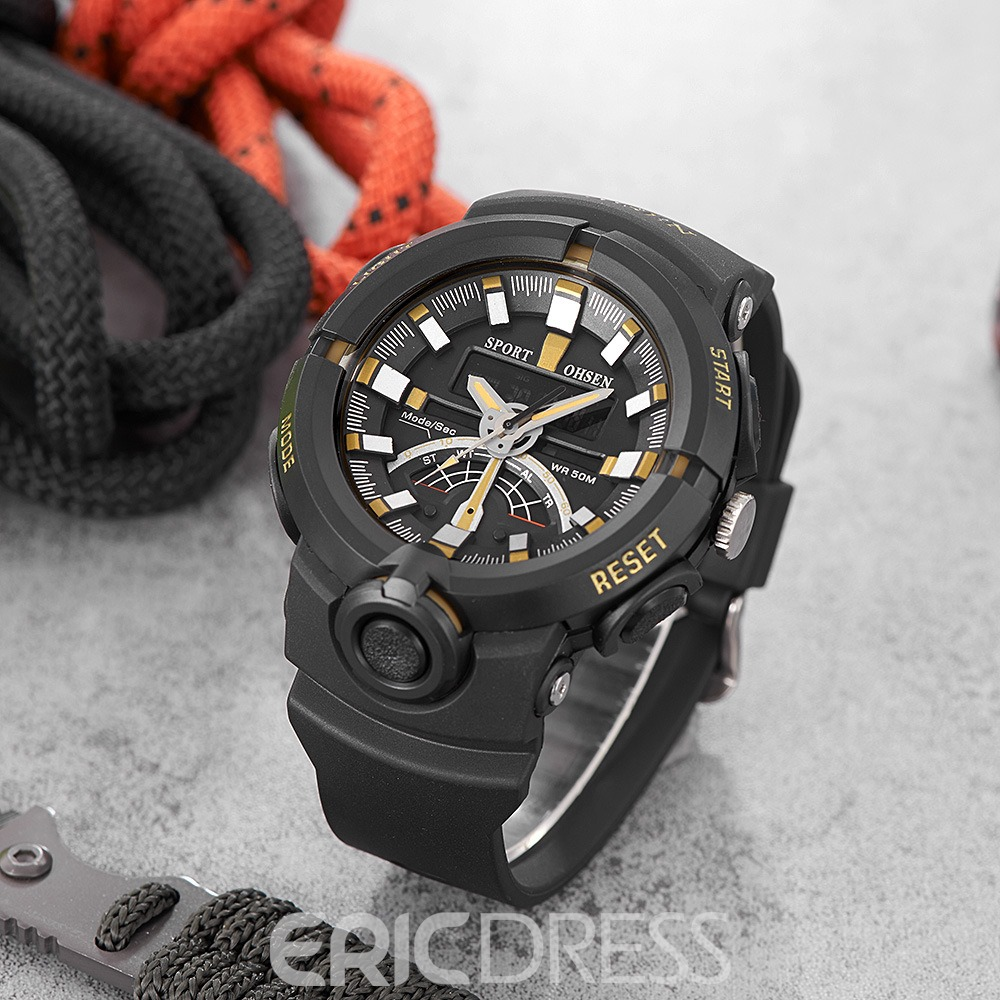 Ericdress JYY Outdoor Sport Multifunctional Watch for Men