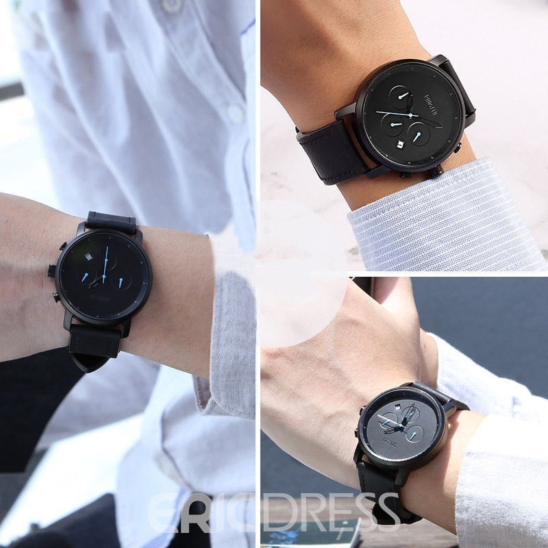 Ericdress JYY New Style Calender Waterproof Quartz Men's Watch