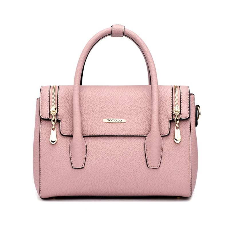 Ericdress Korean Style Doible Zipper Design Women Handbag