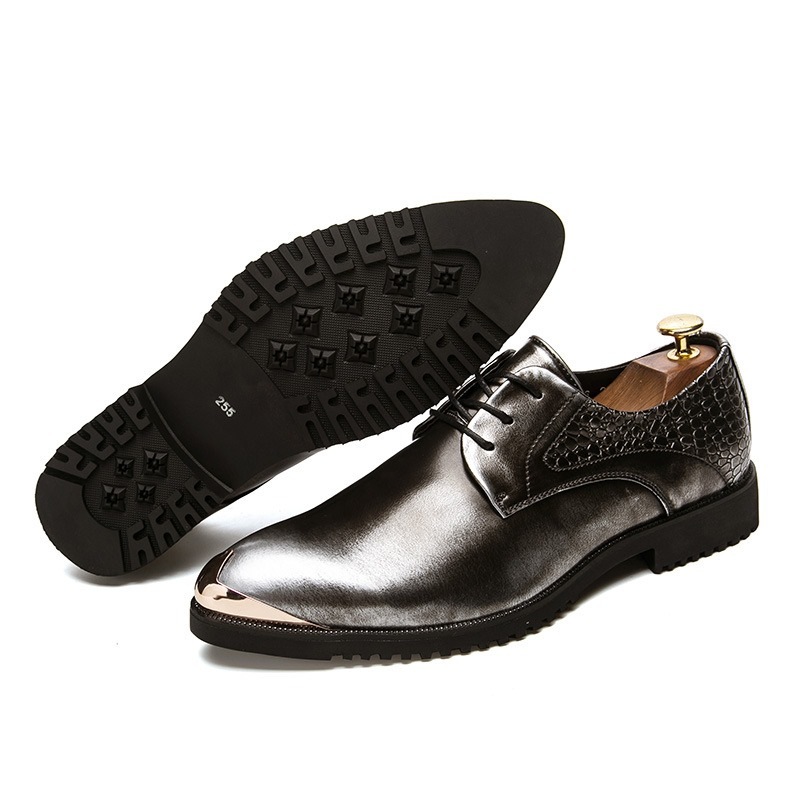Ericdress Comfy British Round Toe Men's Oxfords