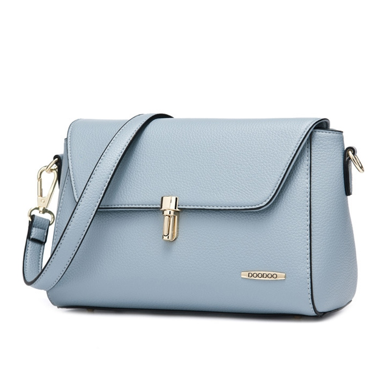 Ericdress Simple Solid Color Crossbody Bag
